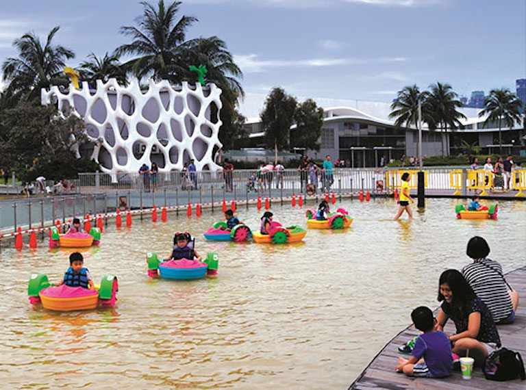 Vivocity water park Honeykids Asia Singapore