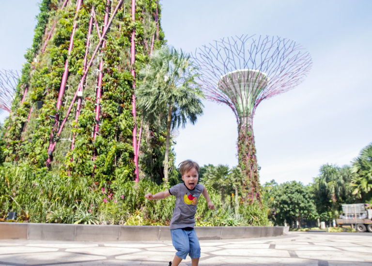 Gardens by the Bay Singapore: how to have the perfect day out with kids