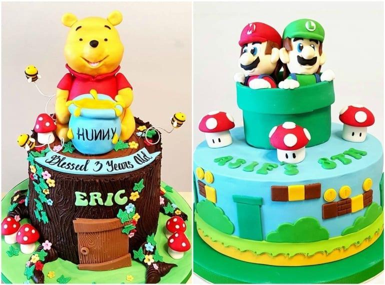 Glazed Desserts Best birthday cakes in Singapore HoneyKids Asia