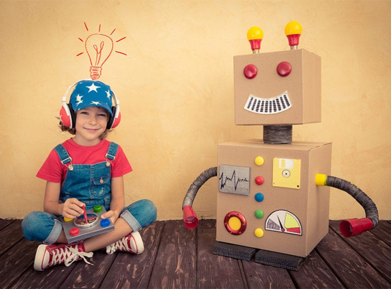 Robot toys that help teach kids coding and programming skills