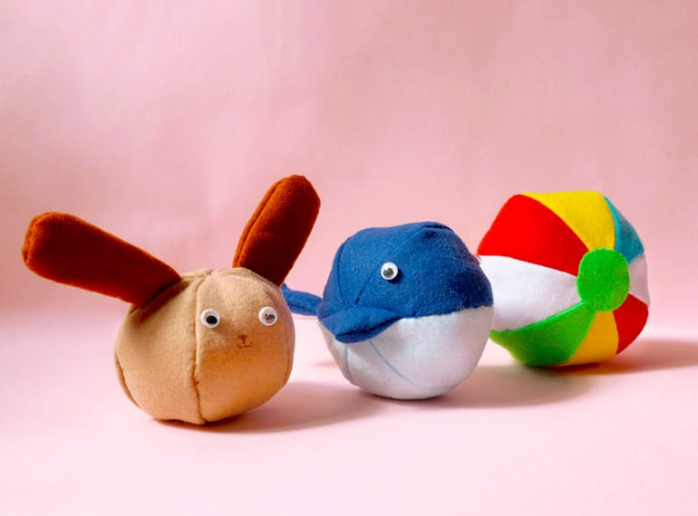 Easy-to-make soft toys for kids