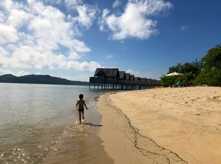 Telunas Private Island review: travel with kids to this quick Indonesian escape from Singapore