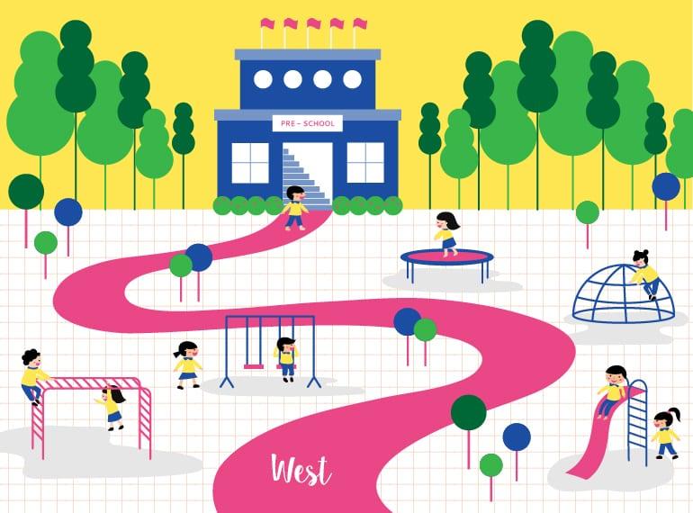 Best Singapore Preschools in the West: play-based, Montessori, Reggio Emilia and international