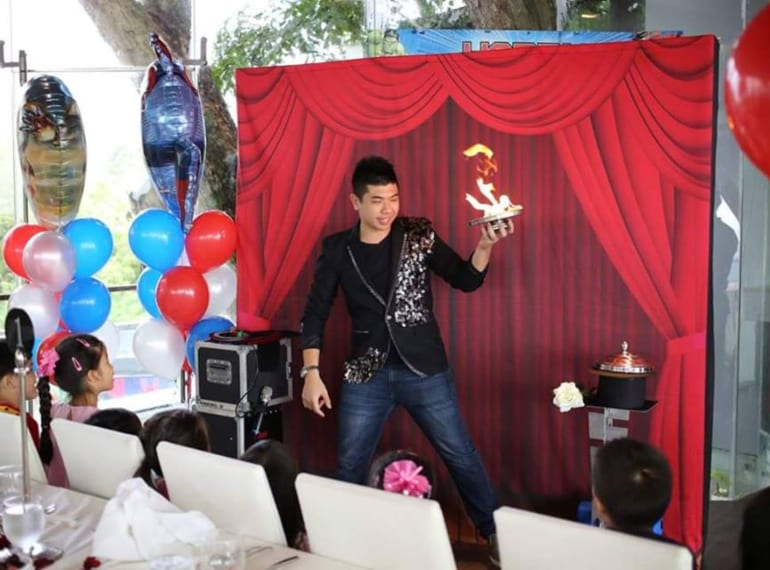 party planners and party entertainers in Singapore