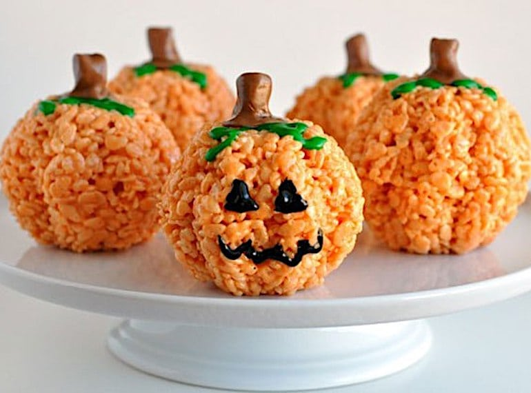 Pumpkin-Rice-Krispies-Treats
