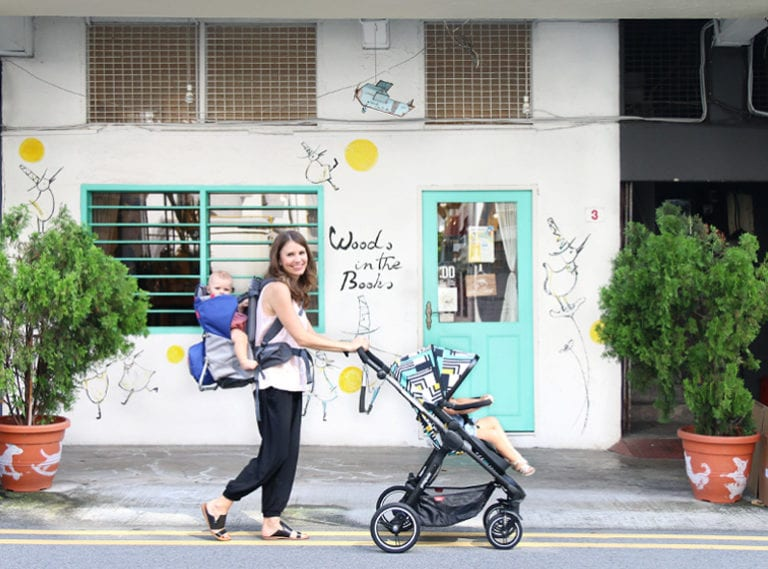 The equipment parents in Singapore need to survive: baby carrier, cot, stroller and highchair