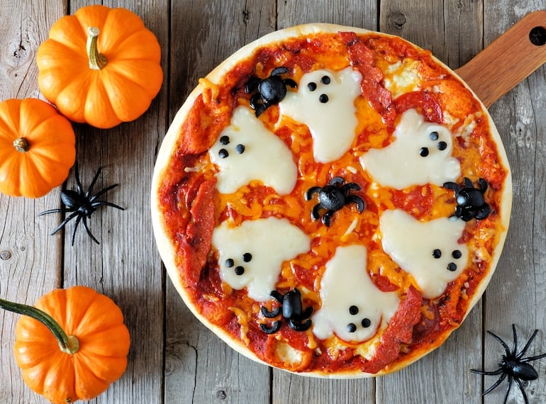 Halloween-Pizza