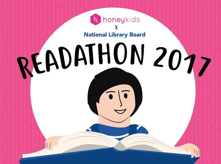 Get your kids reading more books with the HoneyKids x NLB Readathon 2017