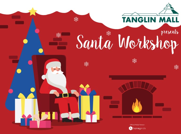 christmas party for kids the tanglin mall santa workshop - Santa Pictures For Kids