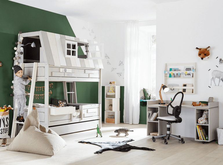 Scandinavian kids' furniture and beds that last a lifetime, from Kuhl Home