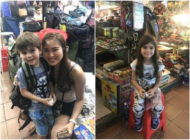 Ho Chi Minh with kids
