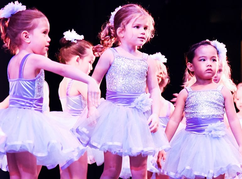 Dance classes for toddlers in Singapore