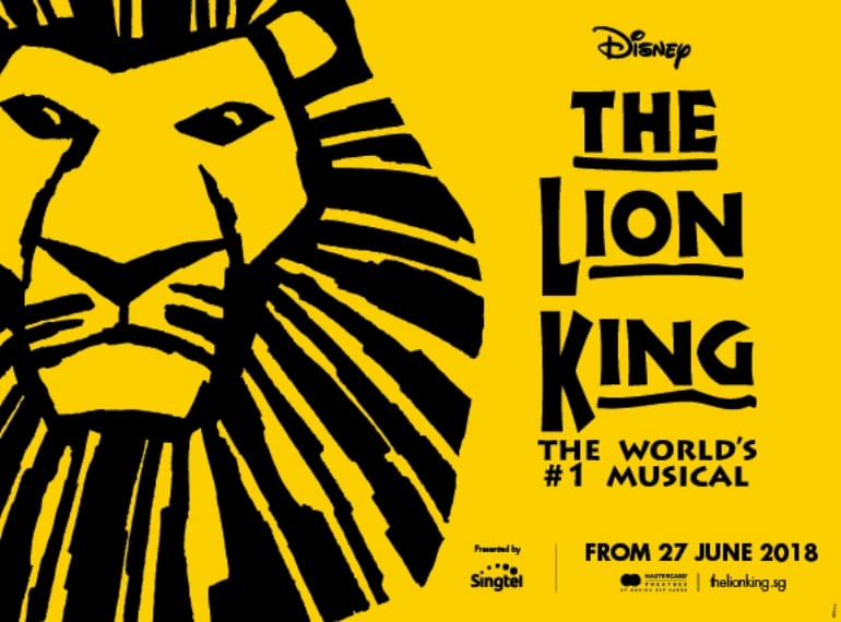 The Lion King Honeykids Asia Singapore
