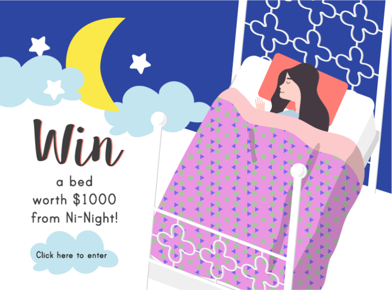 HoneyKids giveaway: win a big kids' bed from Ni-Night worth $1000!