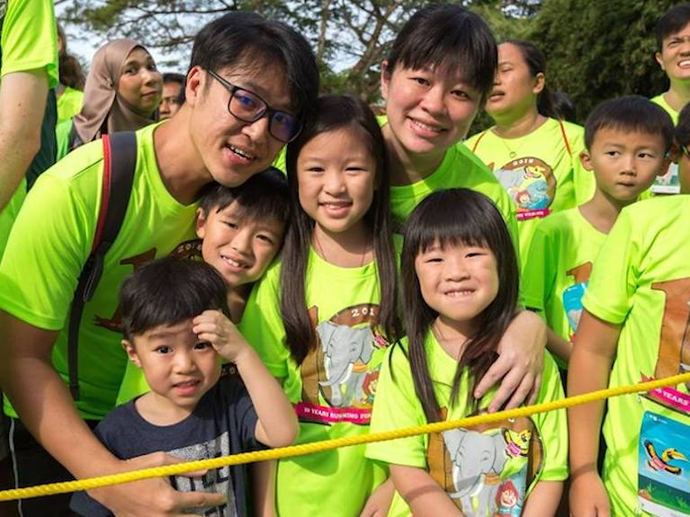 Family fun runs, kids' dashes and performance challenges in Singapore for 2019