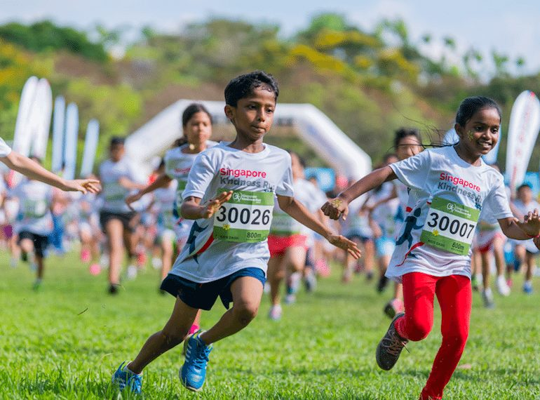 Singapore-Kindness-Run Family Fun Runs