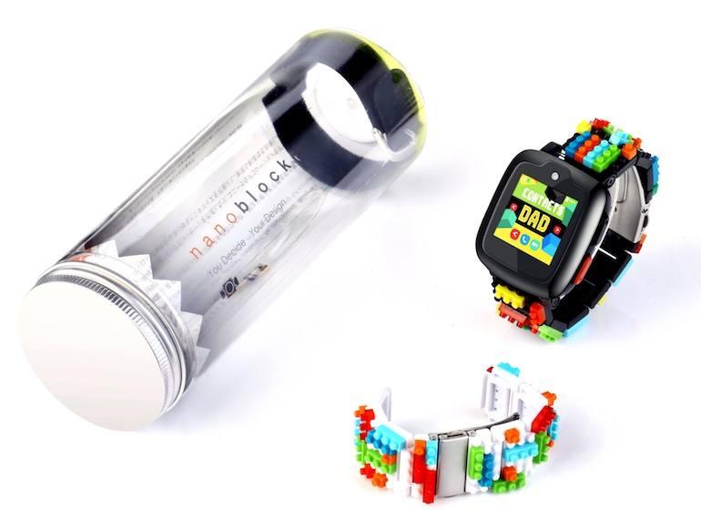 Omate-x-Nanoblock Smartwatch Honeykids Asia Singapore
