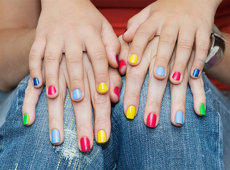 Nail salons in Singapore: Where to get a manicure or pedicure with kids