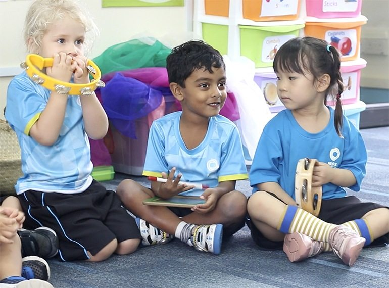 Easy musical games to play at home, recommended by Nexus International School (Singapore)