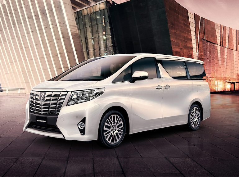 Toyota Alphard Best Family-friendly cars 2018 Honeykids Asia Singapore