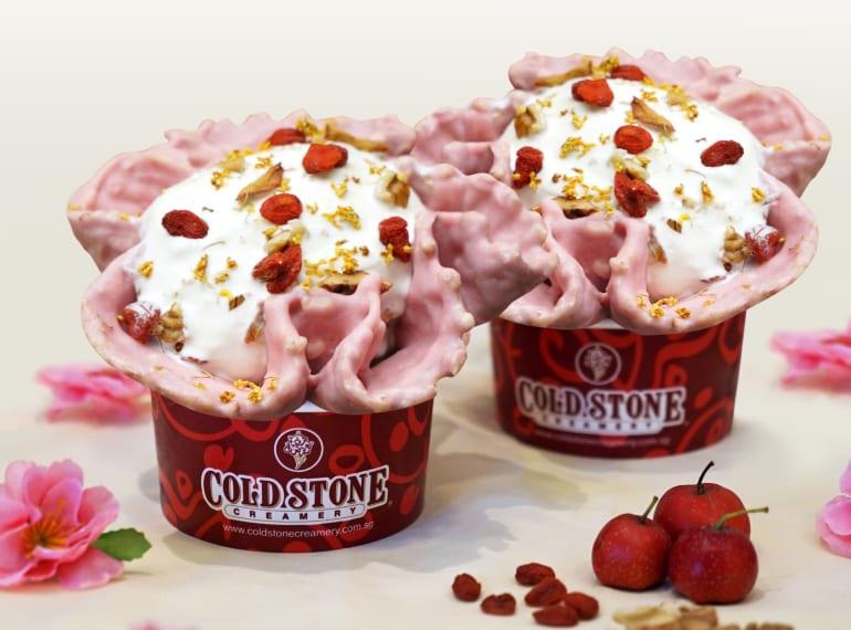 coldstone creamery chinese new year goodies
