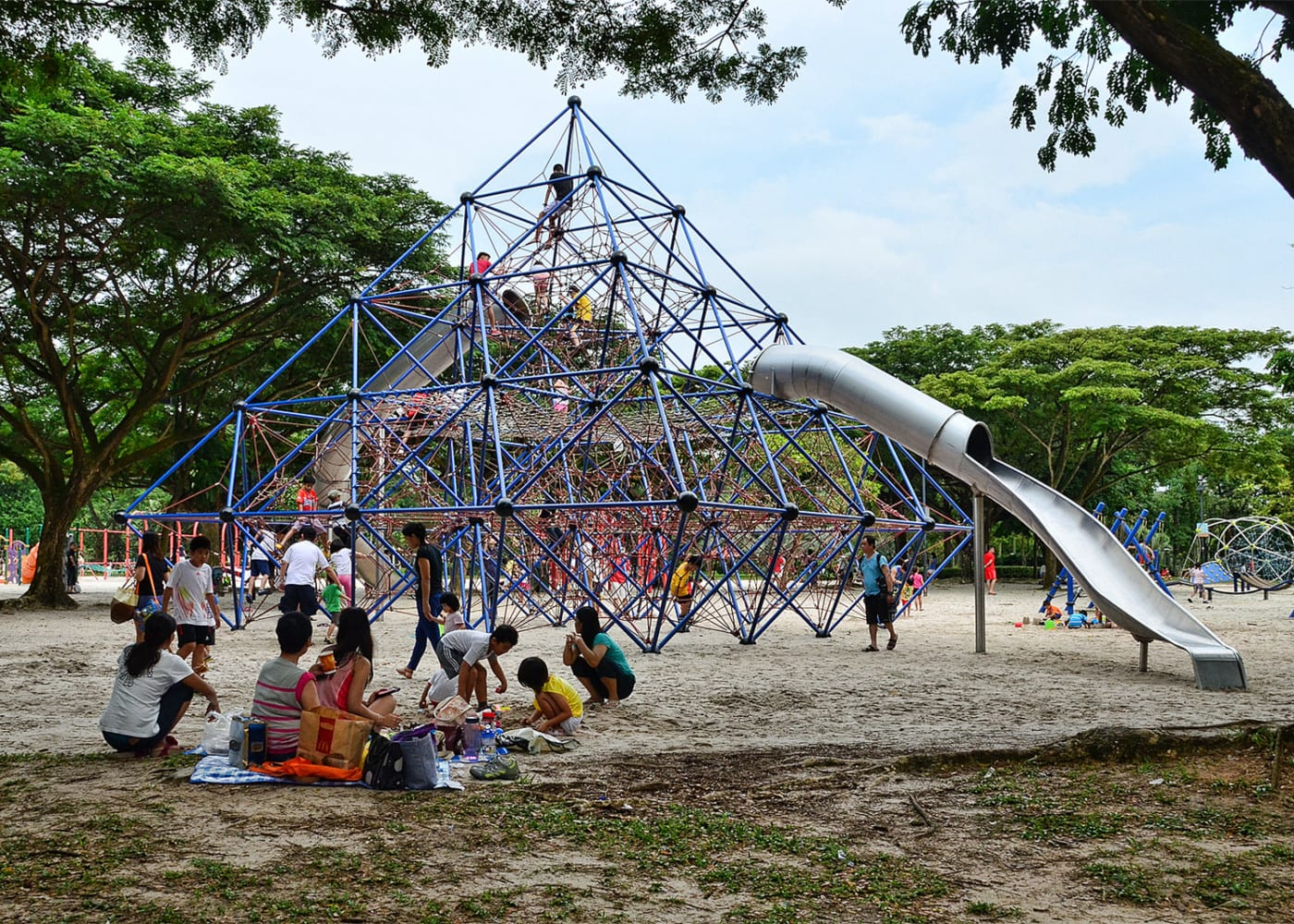 Best playgrounds and parks in Singapore for kids of all ages