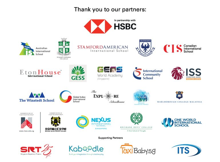 Honeykids Asia HSBC School Fair Sponsors