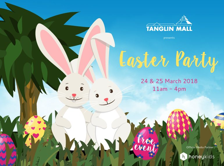 Egg cellent times at tanglin mall easter activities for kids 2018 at tanglin malls easter party you can expect a magic show face painting chocolate treats crafts plus a meet and greet with real bunnies m4hsunfo