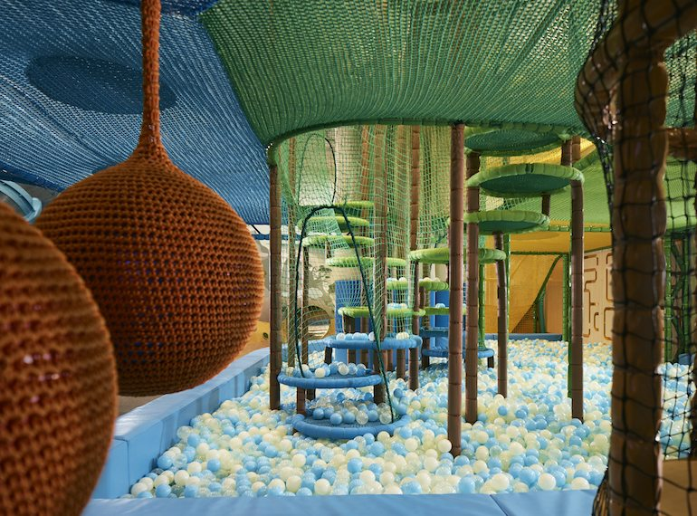 Buds by Shangri-La: Themed playzones, special activities and wet play area