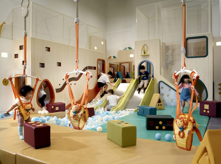Soft play for babies: Buds by Shangri-La