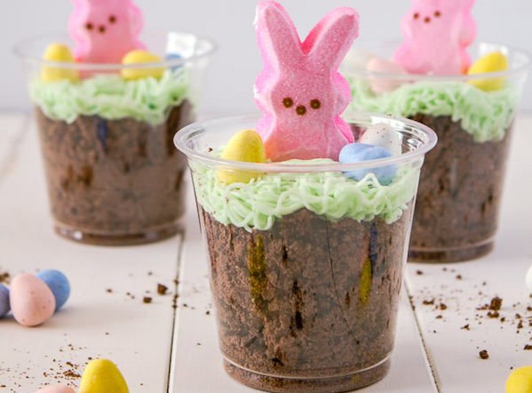 Easter-Snacks-Dirt-cups