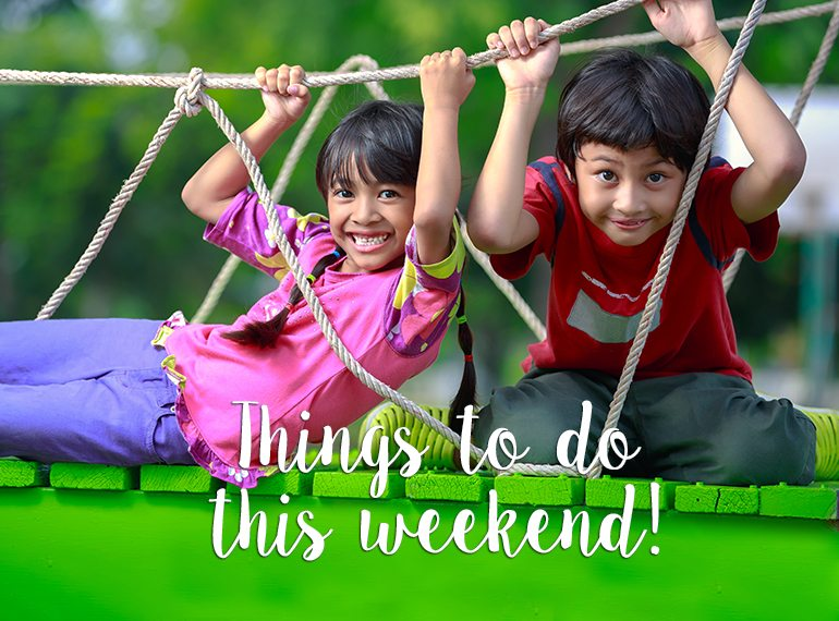 10 things to do with the kids this weekend in Singapore: 13-14 July 2019