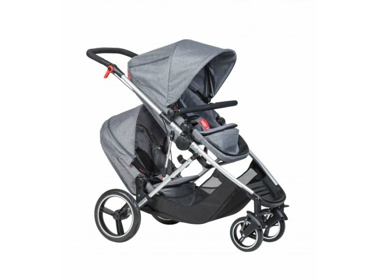 Double strollers phil_ted_voyager Honeykids Asia Singapore