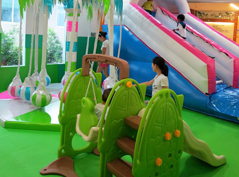Petite Park Indoor playgrounds for babies Honeykids Asia Singapore
