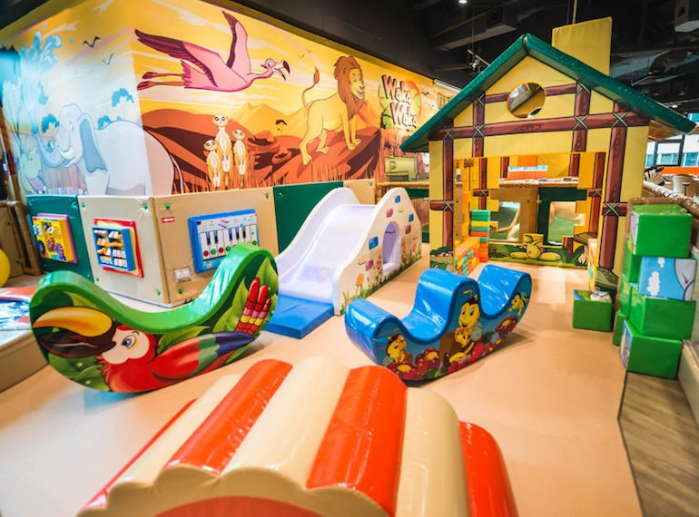 Waka Waka Pollywogs Indoor playgrounds for babies Honeykids Asia Singapore