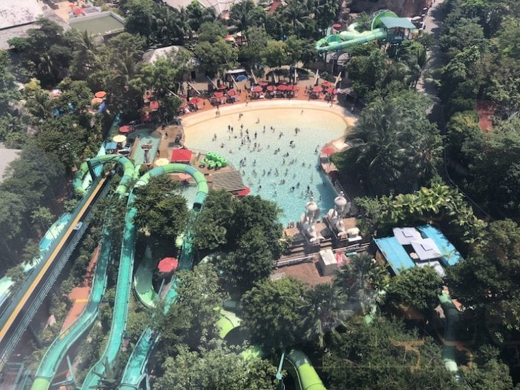 Sentosa with kids