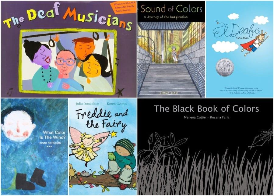 Children's books on diversity - deaf and blind