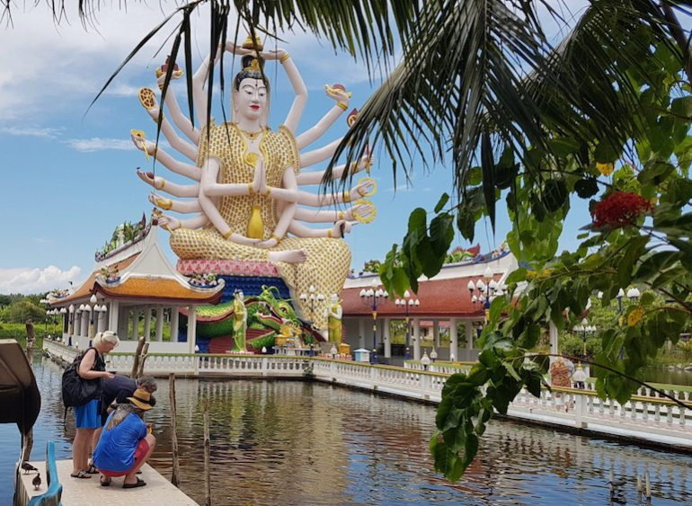 Koh-Samui-with-kids-TEMPLE