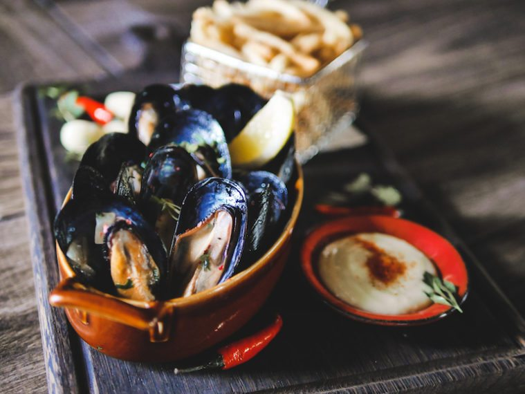 1919 Waterboat House's Moules and Frites are a must have!