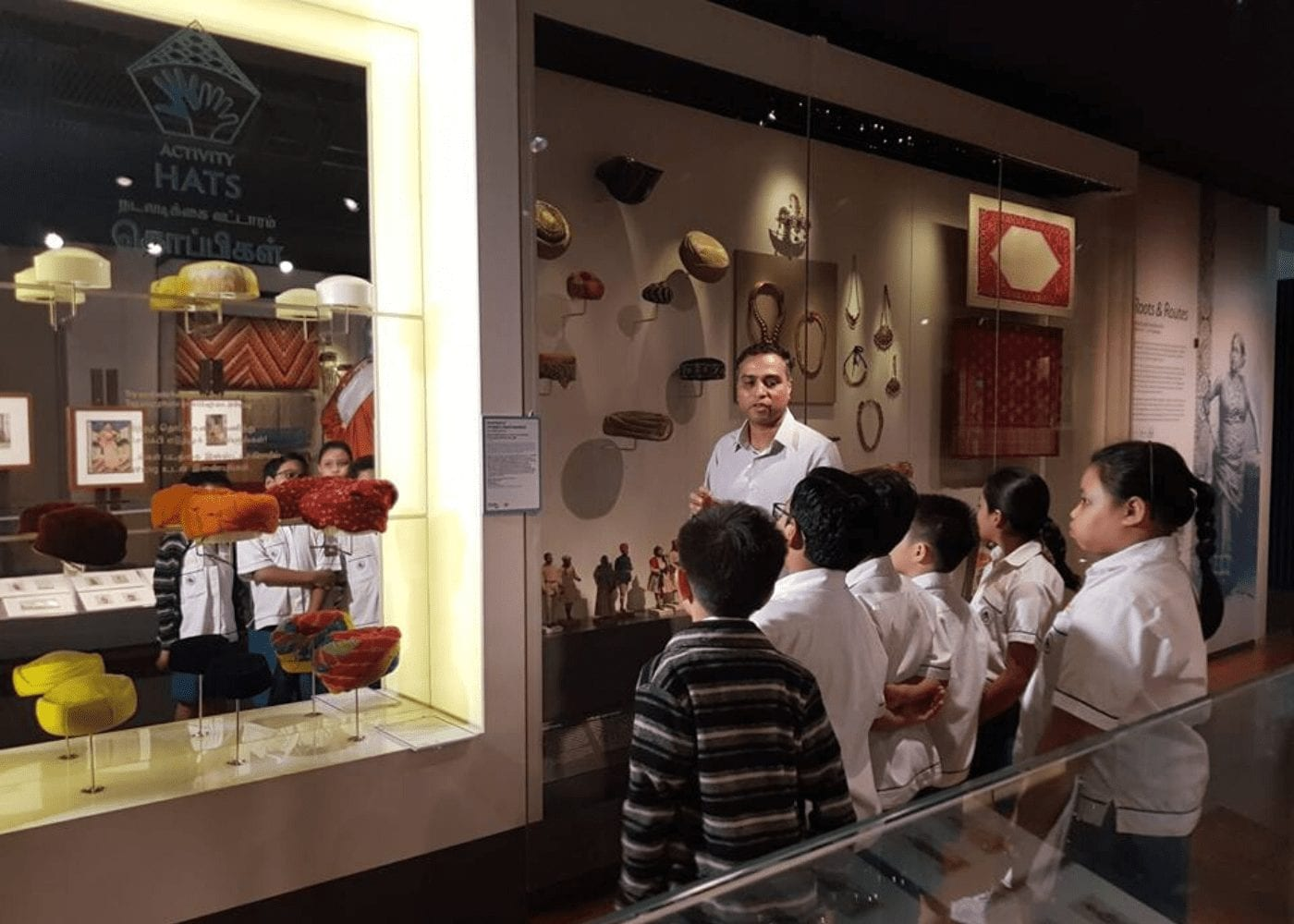 Free things to do with kids in Singapore indian heritage centre