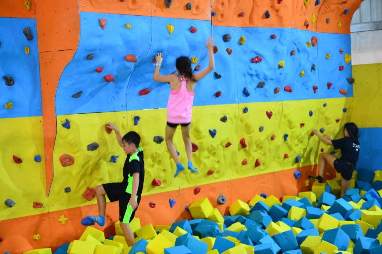 ZOOM Park Asia Rock climbing in Singapore Honeykids Asia