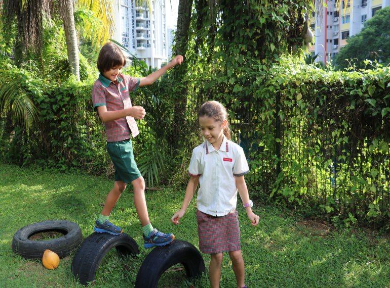 EtonHouse Thomson parent testimonial: A school where children enjoy the learning experience