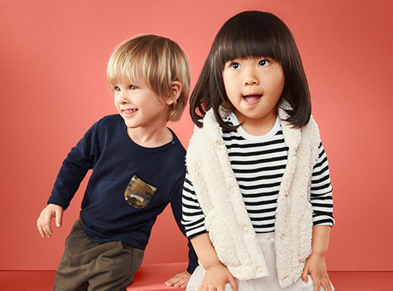 uniqlo Online clothes shopping for kids Honeykids Asia Singapore