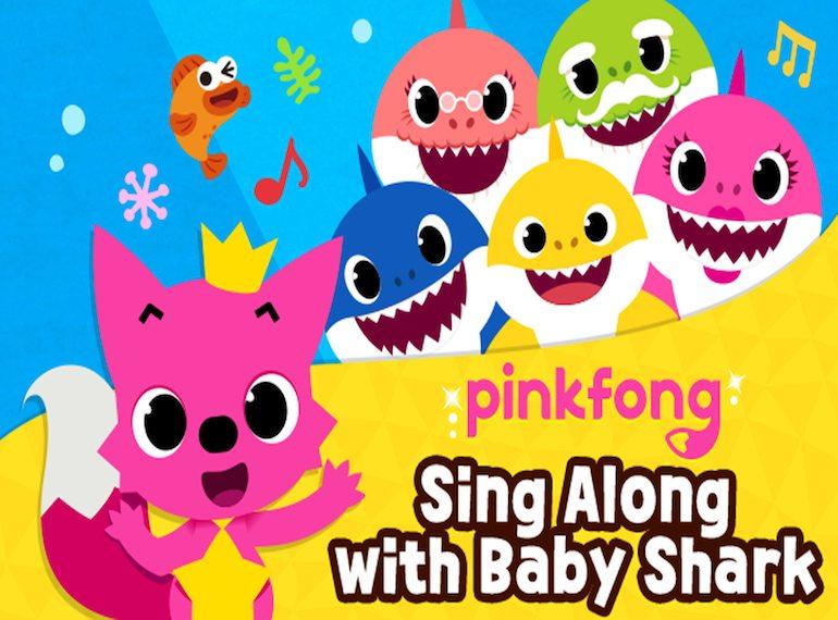 Pinkfong and baby shark show honeykids asia pinkfong and baby shark show stopboris Choice Image