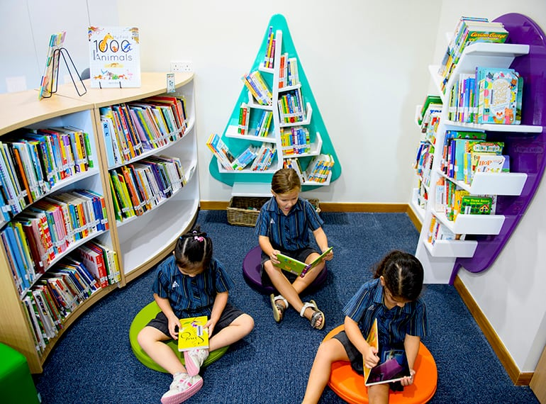 AIS Early Years Library Honeykids Asia Singapore