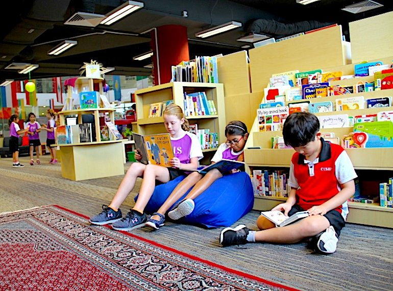 CIS-library-Honeykids Asia Singapore