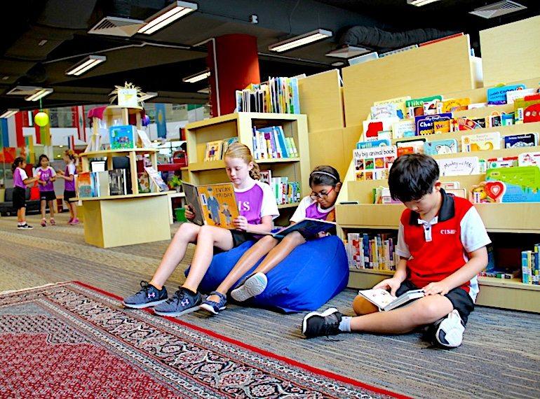 CIS-library-Honeykids Asia Singapore