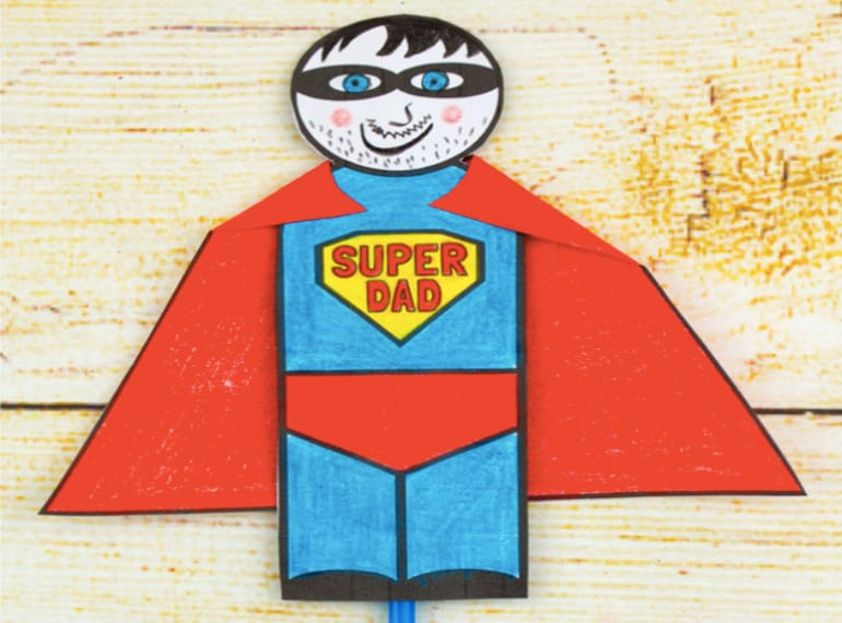 Fathers-Day-Craft-SUPERHERO-DAD