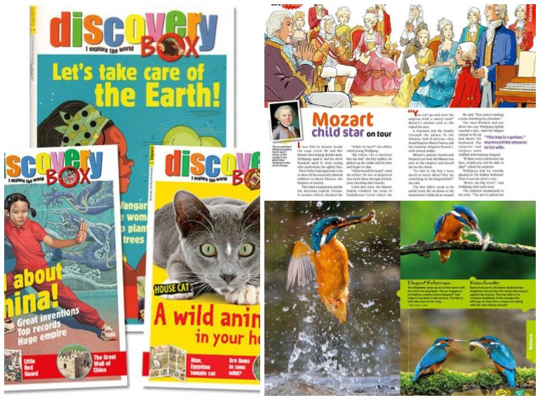 discoverybox subscription magazines for kids Honeykids Asia Singapore