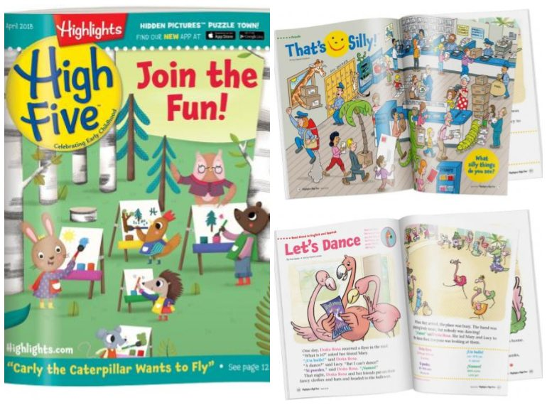 Subscriptions for kids' magazines in Singapore HIGH FIVE